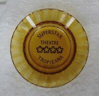 "1970's ""The Superstar Theatre Tropicana Hotel & Casino"" Ashtray Las Vegas Nevada"