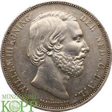 AA6124) Niederlande 2 ½ Gulden 1867  Wilhelm III. 1849 - 1890