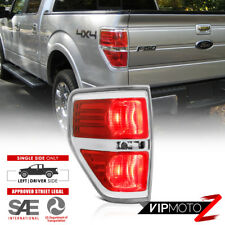 "09-14 Ford F150 ""OE Style"" Red+Chrome Bezel Replacement Tail Light Left/Driver"