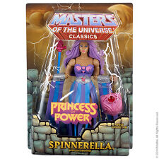 MOTUC Spinnerella Dizzying Defender In Hand 2014 He-Man Sub Etheria SHE-Ra