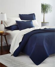 Charter Club Damask Solid Quilted Cotton 2 European Pillow Shams $140