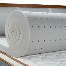 Maxzzz Queen 2 Inch Memory Foam Mattress Topper Bamboo Charcoal Bed Foam Pad