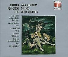 War Requiem/Threnos/Viol.Konz. von Scherzer,H.,T. Adam,H. Kegel (1993)