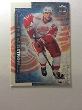 1999-00 Pacific Dynagon Ice Red Wings Hockey Card #75 Nicklas Lidstrom