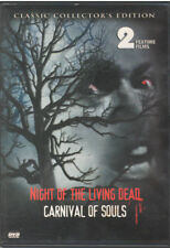 NIGHT OF THE LIVING DEAD/CARNIVAL OF SOULS (DVD, 2004)