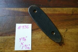 Winchester Full Checkered Metal Buttplate for Model 94, 61, 42 Pre-64