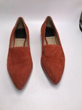 Paul Smith   suede  flat Shoes orange  Size  EU 37