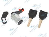 MAN Truck F2000 F90  New Ignition Lock Cylinder Barrel With 2 Keys 7 Pin Plug