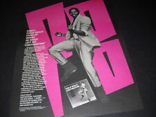 Philip Bailey from Earth Wind & Fire picks up where he left off 1983 Promo Ad