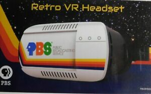 PBS Retro Space-Themed Virtual Reality Headset -NEW