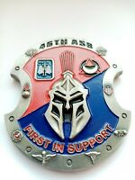CHALLENGE COIN U.S. ARMY 46TH ASB FERST IN SUPPORT BELLATORS FOR EXCELLENCE