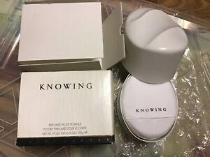 Knowing Perfumed Body Powder 4.25oz By ESTEE LAUDER FOR WOMEN NIB!!