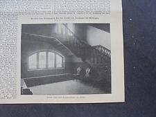 1909 Baugewerkszeitung 26 / Ratibor Architekt Wolter