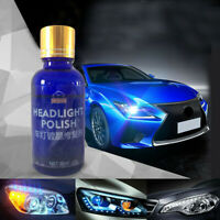 9H Hardness Car SUV Headlight Len Restorer Repair Liquid Polish Cleaning Tool X1