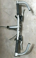Vintage Trek MTB System 4 Handlebars Bar Ends and Deore LX 3x7 Shifters Brakes