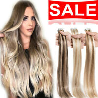 Hot Sale 100% Real Human Hair Tape In Russian Remy Human Hair Extensions 40pcs