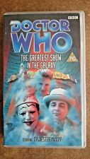 Doctor Who - The Greatest Show In The Galaxy (VHS, 2000) - Sylvester McCoy