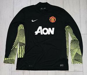 """Manchester United 2011/2012 Nike """"XL"""" Goalkeeper Shirt Jersey Long Sleeve GK"""