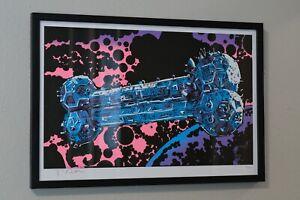 """Tim Doyle Print """"Next Sunday A.D."""" MST3K Professionally Framed Limited 149/300"""