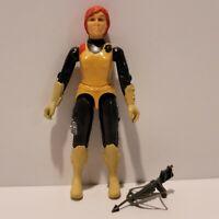 G.I. Joe ARAH 1982 SCARLETT Straight Arm Action Figure Complete VERY NICE+++!!!