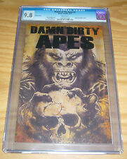 """Planet of the Apes #1 CGC 9.8 """"damn dirty apes"""" variant - highest grade - boom"""