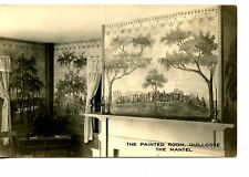 Quillcote Home Interior-Murals-Hollis Maine-RPPC-Vintage Real Photo Postcard Lot