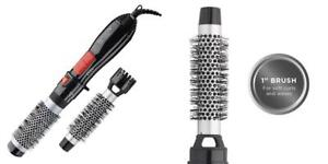 Revlon Ceramic Hot Air Brush Kit with 1 Inch & 1-1/2 Attachments