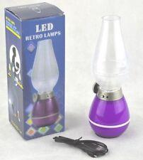 Lampade da interno in plastica viola