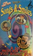 Songs & Smiles Joe Scrugs First Video FACTORY SEALED VHS-RARE NEW