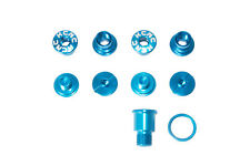 KCNC SPB009 Road Bike Crank Chainring Bolts Nuts for Campagnolo Campy Blue