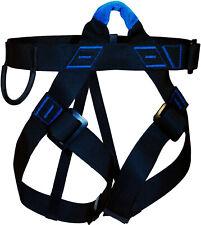 Harnais d'Escalade AVENTURE VERTICALE First - AVES0102 - Noir Bleu -  Taille M-L