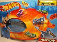 HOT WHEELS TOY CAR RACING SET TOY STUNT CAR SET DRIFT CAR CHALLENGE PLAY SET NEW