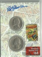 2017 Marvel Fleer Ultra Spider-Man Ed Hannigan Autograph Coin Card # CCP10
