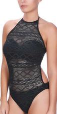 Abbigliamento neri per il mare e la piscina da donna Taglia coppa DD Taglia 36