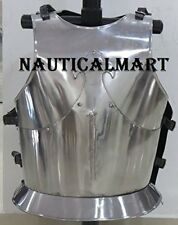 MEDIEVAL KNIGHT STEEL BREASTPLATE - ARMOR COSTUME - ONE SIZE BY