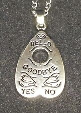 Ouija Planchette Necklace Coven Oracle Goth Alternative Unique Gift