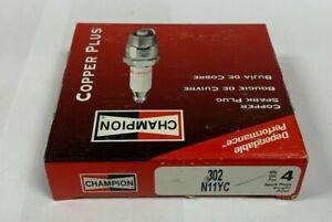 Champion 302 Spark Plug Pack of 4