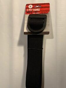 Tru-Spec 24-7 Series 2-Ply Range Belt, Black, Small, 4091003