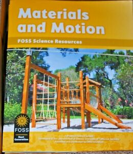 Materials and Motion FOSS SCIENCE