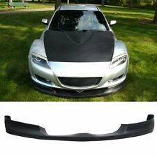 Fit 04-07 Mazda RX8 RX-8 Style PU Front Bumper Lip Urethane