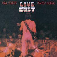 NEIL & CRAZY HORSE YOUNG - LIVE RUST  2 VINYL LP NEU