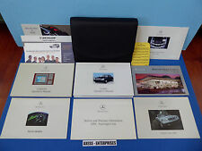 2001 Mercedes W220 S S430 S500 S55 S600 Owners Manuals Operators Books Pouch Set