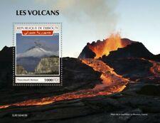 Djibouti - 2019 Volcanoes on Stamps - Stamp Souvenir Sheet - DJB190403b