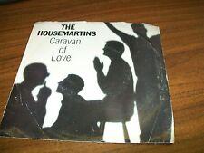 """The Housemartins-Caravan Of Love-When I First Met Jesus-7"""" 45-Elektra-Pic Sleeve"""