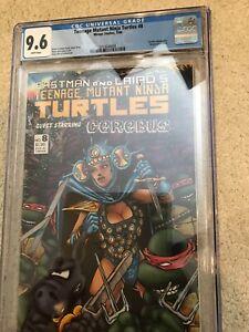 TMNT #8 CGC 9.6 - 3776261003 - White P's - Excellent Early Turtles! Cerebus App.