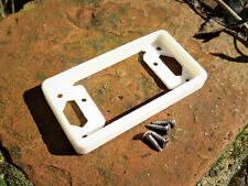SUPRO / AIRLINE / NATIONAL GUITAR PICKUP RING REPRO - WHITE - NECK