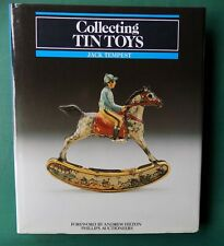 Book Collecting Tin Tinplate Toys Jack Tempest Signed