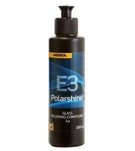 MIRKA® Polarshine® E3 glass polishing compound 250mL for glass scratch removal