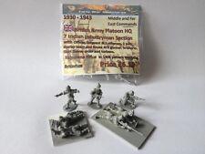 EWM Britinf109 1/76 Diecast WWII Indian Infantry 7 Man Platoon Headquarters+