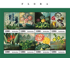 Tanzania 2013 - Flora Sheet of 8 Stamps (#2) MNH